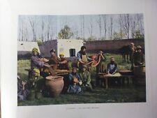 Caucase&Asie centrale/Gravure 19°in folio couleur/Une boyauderie a Boukhara