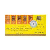 Niu Huang Jie Du Pian Beijing TongRenTang Supplement (96 Tablets) by Solstice