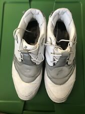 """1000% AUTHENTIC & Pre-Owned Reebok Answer 5 OG """"White-Silver"""" Size 13 No Box"""