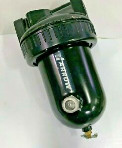 "ARROW F329-06 W High Flow Particulate Air Filter 3/4"" 40 micron w Sight Glass"