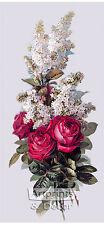 Roses and Lilacs by Paul de Longpre (Art Print of Vintage Art)