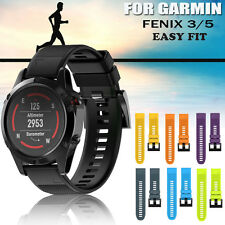 Replacement Silicagel Sports Soft Band Strap For Garmin Fenix 3 5 5X GPS Watch
