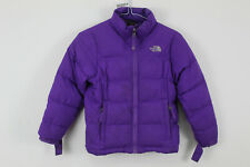 THE NORTH FACE 550 Down Purple Puffer Jacket size S (7/8) Girls