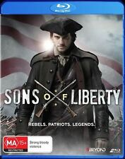 Sons Of Liberty (Blu-ray, 2015, 2-Disc Set) New & Sealed