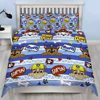 Paw Patrol 'Peek' DOUBLE Duvet Cover Bedding Set