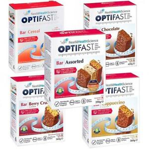 NEW Optifast VLCD Bars - 6 Pack