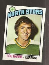 1976 Topps Lou Nanne #173