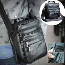 Crossbody Men's Purse Shoulder Bag Male Solid Color Hand Business Upscale Travel