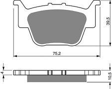 Brake Pads Rear  For Honda TRX420 FPA9 Fourtrax Rancher AT Power Steeri 2009