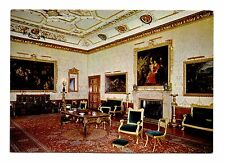 Windsor Castle England Postcard UK King's Drawing Room Paintings Fireplace