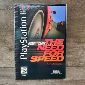 Road & Track Presents: The Need for Speed Long Box (Sony PlayStation 1, 1996)