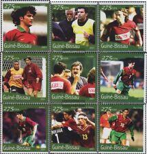 Guinée-bissau 1352-1360 neuf avec gomme originale 2001 Football-WM 2002