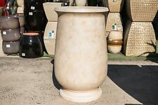 GRC Outdoor Garden Patio Tall Planter Pot Urn Plant Round Bowen Jar Sandstone