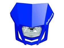 Plaque phare Moto Enduro POLISPORT LMX Bleu Homologué CE