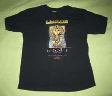 KING TUT Field Museum Boy Girl SHIRT Youth Sz L Egypt Pharaoh Tutankhamun Black