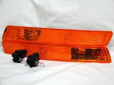 For 2006-2009 Beetle FRONT Side Marker Turn Signal Light Lamps w/Bulb RL Pair