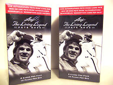 2 Box Lot 2012 Leaf Pete Rose Auto The Living Legend AUTOGRAPH PER BOX Free Ship