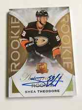 2015-16 UD The Cup Shea Theodore /36 Gold Rookie Autograph Anaheim Ducks RC