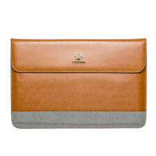 Ultra Slim Split Leather Sleeve Laptop Case Pouch for MacBook Pro Dell XPS 15