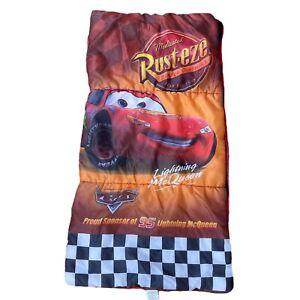 Play Hut Lightning Mc Queen Cars Sleeping Bag Disney Pixar