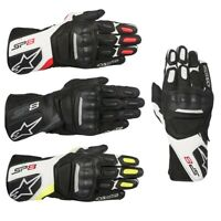 Alpinestars SP-8 V2 Gloves Motorcycle Street Bike Riding Leather Touch Screen