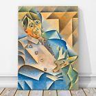"""JUAN GRIS Art - Portrait of Pablo Picasso CANVAS PRINT 18x12"""" - Cubist, Cubism"""