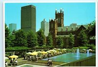 Atlanta Georgia Park Fountain Across from Capitol Building 4x6 Postcard A50