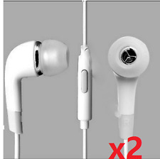 2x Headset Handsfree Earphone for Apple iPhone 7 7 Plus 6 6 Plus 5 5S 5C 4S 4