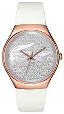 LACOSTE Valencia tono Rosa Dorado Reloj de Damas 2000788-PVP 139 € - nuevo