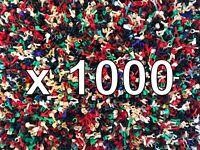 1000 + New Custom & Lego Minifigure Block Construction Toy Hands Craft Scrapbook