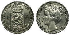 Netherlands- 1 Gulden 1901 - Zeldzaam