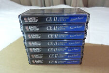 BASF Chrome Extra CE II 90 Min X 7 Used Audio Cassettes