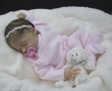 Reborn baby girl from the LE Sofia Grace sculpt by Natalie Scholl