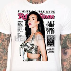 Katy Perry t-shirt - Mens & Women's sizes S-XXL - rolling Stone Poster Cover