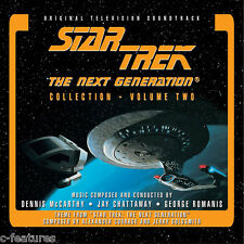 STAR TREK Next Generation VOLUME 2 Dennis McCarthy LA-LA LAND Ltd 3-CD Set NEW!