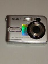 Vivitar ViviCam 5385 5.0MP Digital Camera - Silver- Works. F1