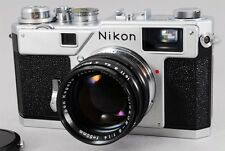 MINT Nikon S3 Silver 2000 Limited Edition Nikkor-S 50mm F1.4 from Japan