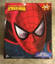 "2012 MARVEL SPIDER-MAN SPIDER SENSE Pavimento Puzzle 46 PEZZI completa 36"" x 24"""