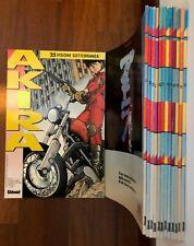 Akira Glénat 1° edizione del 1992 - lotto completo dal n°13 al n°25 ottimi