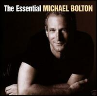 MICHAEL BOLTON (2 CD) THE ESSENTIAL ~ GREATEST HITS ~BEST OF 70's 80's *NEW*
