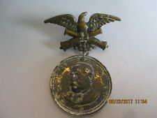 """1884 CAMPAIGN MEDAL 1 1/2"""" X 2"""" GROVER CLEVELAND"""