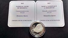 Moldova 2013 50 lei Monastery Tipova  Silver coin