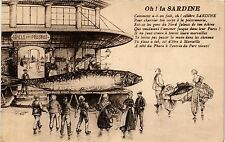 CPA MARSEILLE Oh! la sardine (403614)