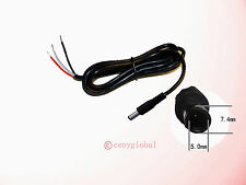 7.4x5.0mm 7.4/5.0 DC Connector Cable Cord For HP Dell Samsung ASUS EEE PC Laptop