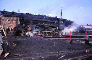 ORIGINAL SLIDE OF BR STEAM LOCO 45269 AT STOCKPORT IN APRIL 1968