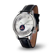 St Louis Cardinals Icon Men's Watch [NEW] Jewelry Leather Stainless Steel
