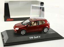 VW GOLF V rouge métallique 1/43