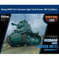 Meng WWT-011 German Light Tank Panzer 38T Q Edition Plastic Assembly Model