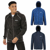 Regatta Cartersville VI Mens Full Zip Stretch Hooded Fleece Jacket RRP £70