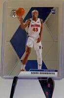 2019-20 Panini Mosaic Sekou Doumbouya Base Rookie RC #243 Detroit Pistons